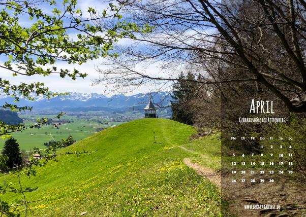Allgäu- Kalender von Allgäupix 2021